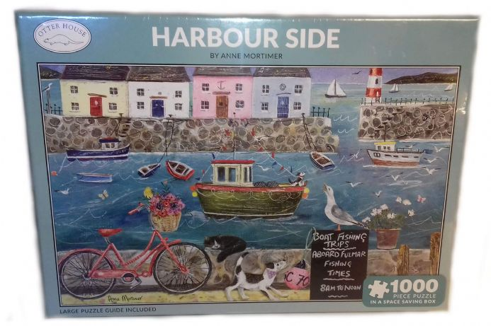 Harbour Side Rectangular 1000 Piece Jigsaw